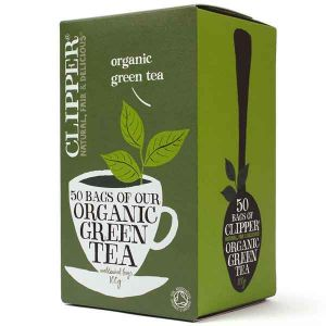 Clipper Organic Green Tea (50 Bags)