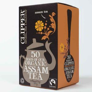 Clipper Organic Assam Tea 50 Teabags