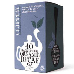 Clipper Organic Decaffeinated Everyday Tea 40 Teabags