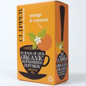 Clipper Organic Orange And Coconut Tea 20 Teabags