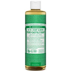 Dr.Bronner's 18-in-1 Almond Pure Castill Soap 473ml