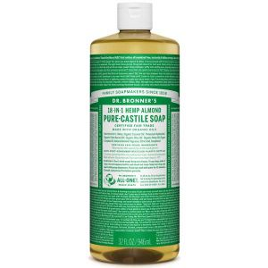 Dr Bronner's 18-in-1 Hemp Almond Pure Castille Soap 946ml