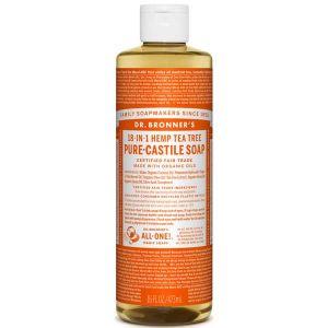 Dr Bronner's Pure Liquid Castile Soap Tea Tree 473ml