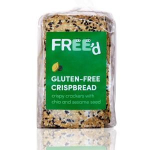 Free'd Gluten Free Crispbread - Crispy Crackers With Chia & Sesame Seed 200g