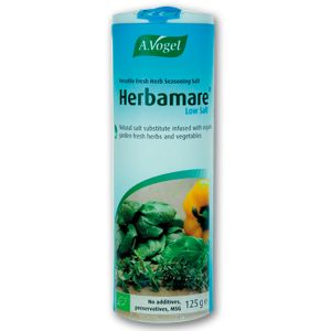A Vogel Herbamare Diet Low Sodium Herb Seasoning Salt 125g