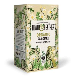 Heath And Heather Organic Camomile 20 Tea Bags