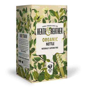 Heath And Heather Organic Nettle Tea 20 Infusion Bags