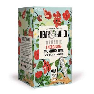 Heath And Heather Organic Morning Time 20 Tea Bags