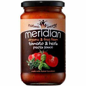 Meridian Organic Tomato & Herb Pasta Sauce 440g