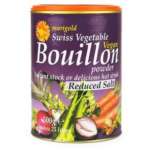 Marigold Swiss Vegetable Vegan Boillon Powder - Reduced Salt