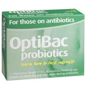Optibac Probiotics For Those On Antibiotics 10 Capsules