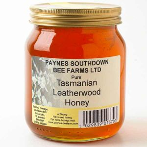 Paul Paynes Tasmanian Leatherwood Honey (clear) 340g