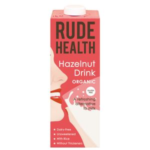 Rude Health Organic Hazelnut Drink 1 Litre
