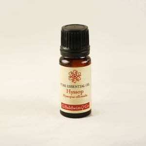 Baldwins Hyssop (hyssopus Officinalis) Essential Oil