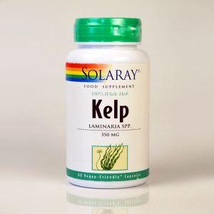 Solaray Kelp 550mg 60 Vegecaps