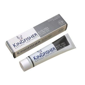 Kingfisher Aloe Vera Toothpaste Flouride Free 100ml Tea Tree Mint