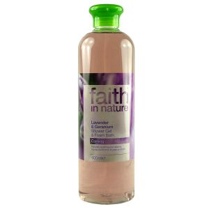 Faith In Nature Lavender And Geranium Shower Gel & Bath Foam 400ml