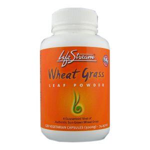 Lifestream Wheatgrass Capsules 120