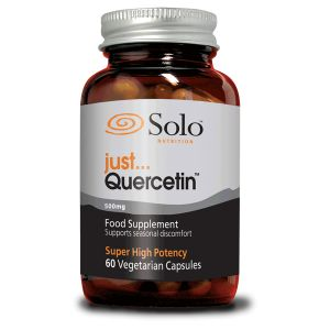 Solo Just... Quercetin 500mg 60 Vegetarian Capsules