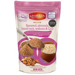 Linwoods Milled Flaxseed, Almonds, Brazil Nuts, Walnuts & Co-q10 360g