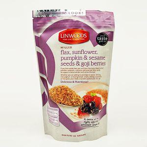 Linwoods Milled Flax, Sunflower, Pumpkin & Sesame Seeds & Goji Berries 425g