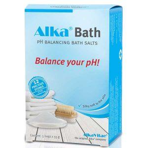 AlkaVitae Alka Bath pH Balancing Bath Salts 5 x 55g Sachets