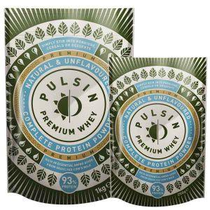 Pulsin' Premium Whey Protein Powder