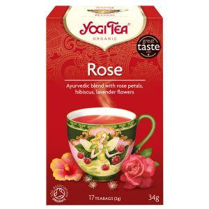 Yogi Rose Organic Tea 17 Teabags