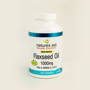 Natures Aid Flaxseed Oil Capsules