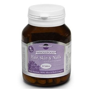 Natures Own Hair Skin And Nails 30 Vegan Tablets