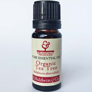 Baldwins Tea Tree Organic (melaleuca Alternifolia) Essential Oil
