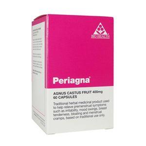 Bio-health Periagna (agnus Castus Fruit 400mg) 120 Vegetarian Capsules
