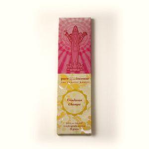 Pure Incense Vrindavan Champa (10 Grams)