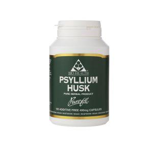 Bio-health Psyllium Husks 400mg 120 Vegetarian Capsules