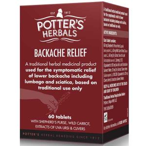 Potters Backache Relief 60 Tablets (Formerly Sciargo)