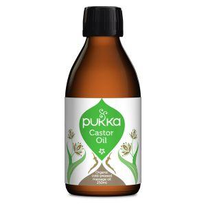 Pukka Herbs Organic Cold Pressed Castor Oil 250ml