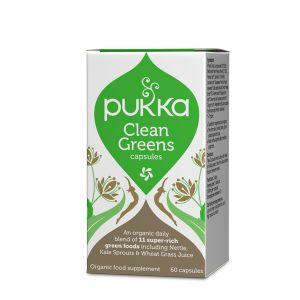 Pukka Herbs Clean Greens 60 Capsules