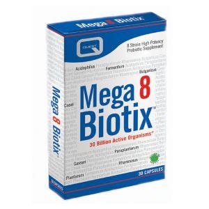 Quest Mega8 Biotix 30 Vegan Friendly Capsules