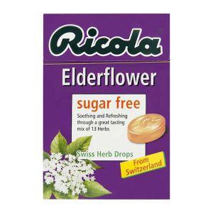 Ricola Elderflower Lozenges Sugar Free 45g
