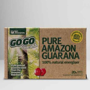 Rio Amazon GoGo Guarana 500mg Vegicaps