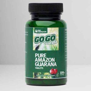 Rio Amazon GoGo Guarana Tablets 100 (500mg)
