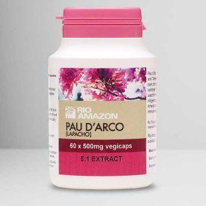 Rio Amazon Pau d'Arco (Lapacho) 500mg 5:1 Extract