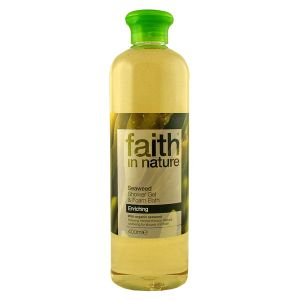 Faith In Nature Seaweed Shower Gel & Bath Foam 400ml