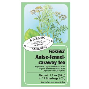 Salus House Organic Anise, Fennel & Caraway Tea Bags (15 Bags)