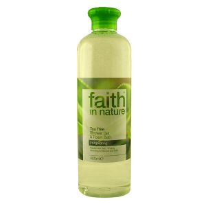 Faith In Nature Tea Tree Shower Gel & Bath Foam 400ml