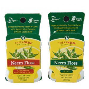 Theraneem Naturals Neem Floss 50 Yards