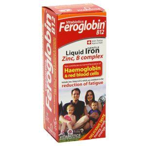 Vitabiotics Feroglobin B12 Gentle Liquid Iron, Zinc & B Complex