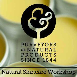 Anne Quinn - Natural Skincare Workshop - Sunday 22nd July 2018