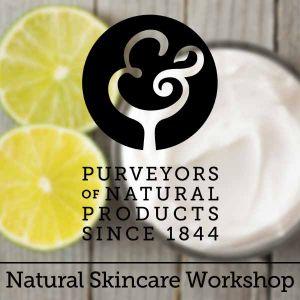 Anne Quinn - Natural Skincare Workshop - Sunday 18th November 2018