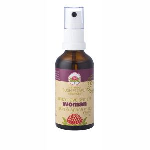 Australian Bush Flower Essences Organic Woman Mist 50ml